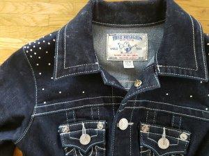 true religion jeansjacke Denim Jacke sommer Basic