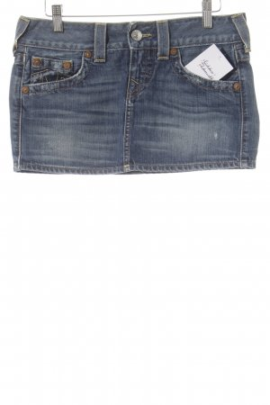 True Religion Jeansrock dunkelblau Casual-Look