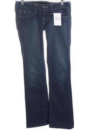 """True Religion Jeans flare """"Becky"""" bleu foncé"""