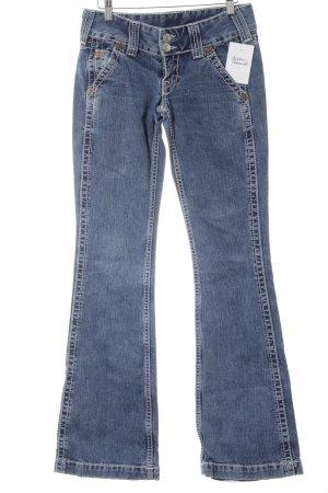 True Religion Jeansschlaghose blau 90ies-Stil