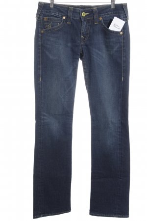 True Religion Jeansschlaghose blau Casual-Look