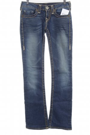 True Religion Jeans flare bleu style seconde main