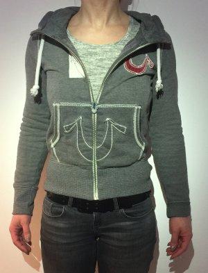 TRUE RELIGION Kapuzenpullover Zipper XS WIE NEU