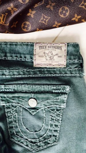 TRUE RELIGION LUXUS JEANS BILLY SUPER T W29 L32 FETTE NÄHTE 100% ORIGINAL TOP-ZUSTAND