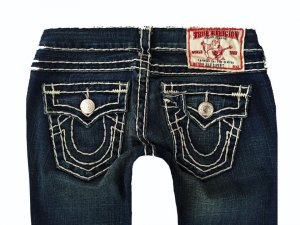 TRUE RELIGION LUXUS JEANS JULIE SUPER T W25 L30 FETTE NÄHTE!! 100% ORIGINAL NEUW.