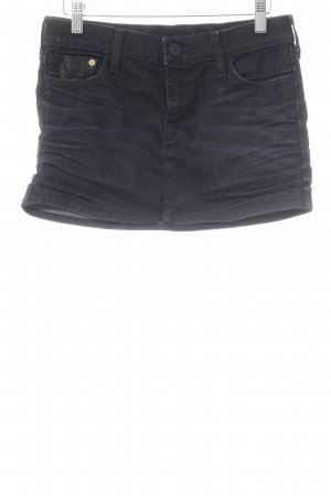True Religion Minirock dunkelblau Jeans-Optik
