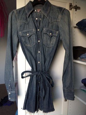 True Religion Rocky Dress Kleid Bluse Gr. M