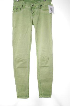 True Religion Röhrenjeans blassgrün extravaganter Stil