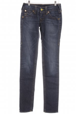 True Religion Röhrenjeans dunkelblau Casual-Look