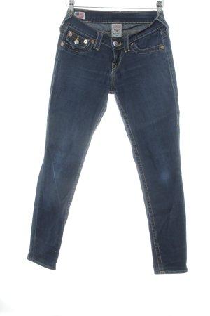 True Religion Tube Jeans dark blue jeans look