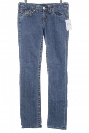 True Religion Vaquero pitillo azul aciano look casual
