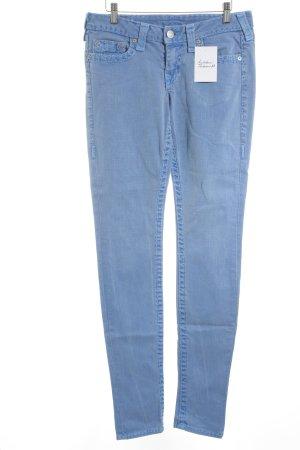 True Religion Jeans a sigaretta blu fiordaliso stile atletico