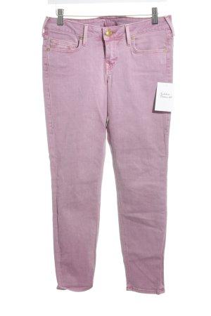 True Religion Röhrenjeans rosa schlichter Stil