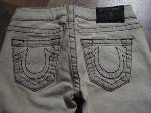 True Religion Section Lizzy Ankle Jeans W25
