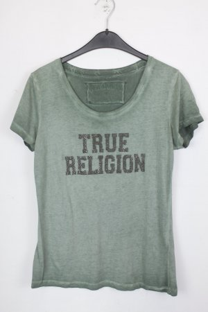 True Religion Shirt Gr. M grün Strass (18/5/134)