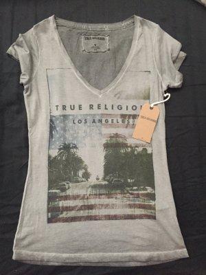 True Religion Shirt grau Gr. s Neu