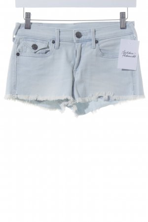 True Religion Shorts blassblau Casual-Look