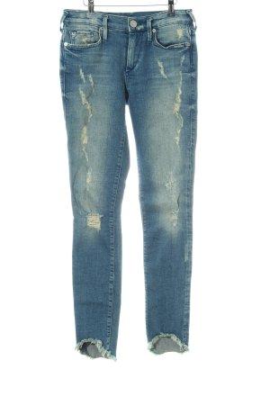 "True Religion Skinny Jeans ""Halle"" blau"