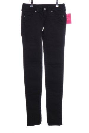 True Religion Skinny Jeans schwarz Casual-Look