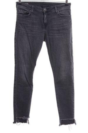True Religion Jeans skinny grigio chiaro stile casual