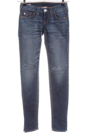 "True Religion Skinny Jeans ""Stella"" blau"