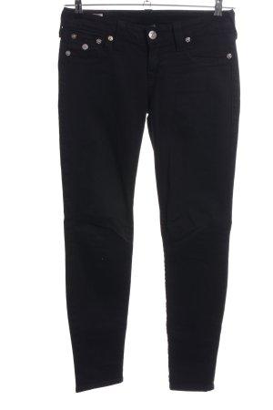 True Religion Skinny Jeans schwarz schlichter Stil