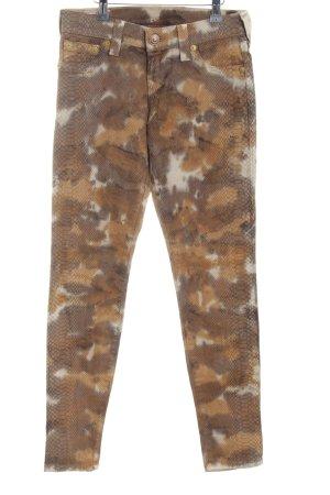 True Religion Jeans skinny motivo astratto stile casual