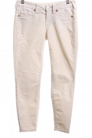 True Religion Skinny Jeans creme Casual-Look