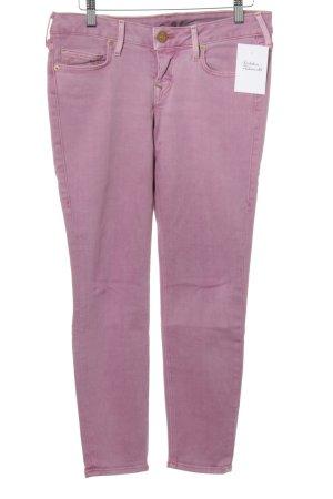 True Religion Skinny Jeans altrosa Casual-Look