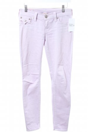 True Religion Skinny Jeans blasslila Casual-Look