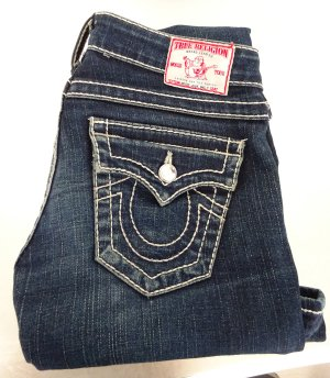 True Religion / Skinny Jeans / Disco Julie Big T / Gr. 24