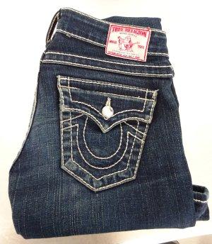 True Religion / Skinny Jeans / Disco Julie Big T / Gr. 24