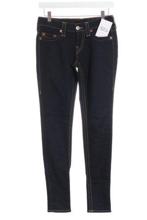 True Religion Jeans skinny blu scuro stile casual