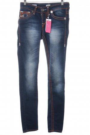 True Religion Skinny Jeans dark blue casual look