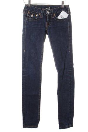 True Religion Skinny Jeans dunkelblau schlichter Stil