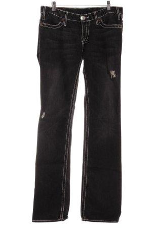 True Religion Jeans skinny grigio scuro stile casual