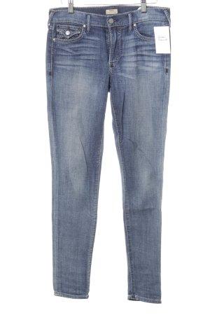 True Religion Skinny Jeans grau-dunkelblau Casual-Look