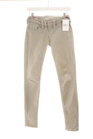 True Religion Skinny Jeans graugrün klassischer Stil