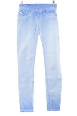 True Religion Jeans skinny azzurro stile casual