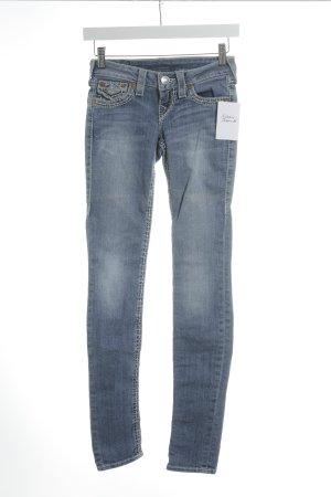 True Religion Skinny Jeans himmelblau Casual-Look