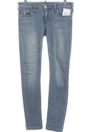 True Religion Skinny Jeans kornblumenblau Casual-Look
