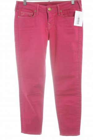 True Religion Skinny Jeans magenta Casual-Look
