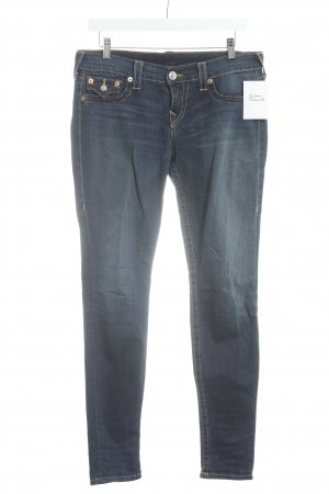 "True Religion Skinny Jeans ""Misty"" blau"