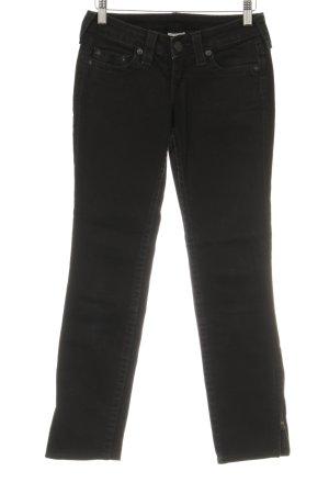 """True Religion Skinny Jeans """"RN#112790"""" schwarz"""