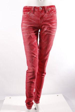 True Religion Skinny Jeans rot
