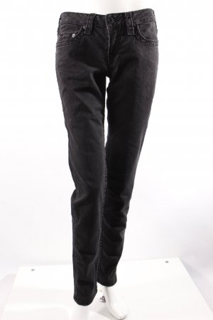 True Religion Skinny Jeans schwarz 30