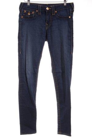"True Religion Skinny Jeans ""Serena"" blau"