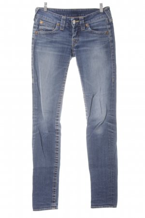 True Religion Skinny Jeans stahlblau-blau Casual-Look