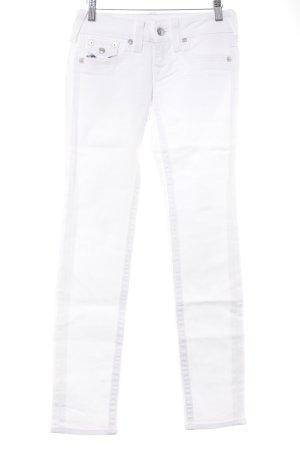 True Religion Skinny Jeans weiß Casual-Look