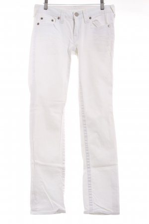 True Religion Skinny Jeans weiß Casual-Look